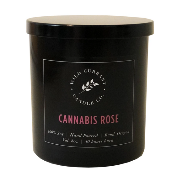 Wild Currant Candle Company Cannabis Rose
