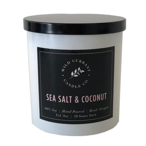 Wild Currant Candle Company Sea Salt + Coconut