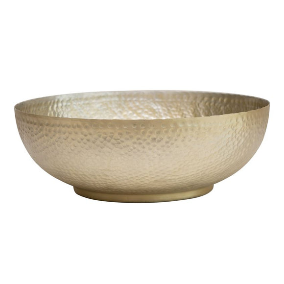 Hammered Aluminum Bowl