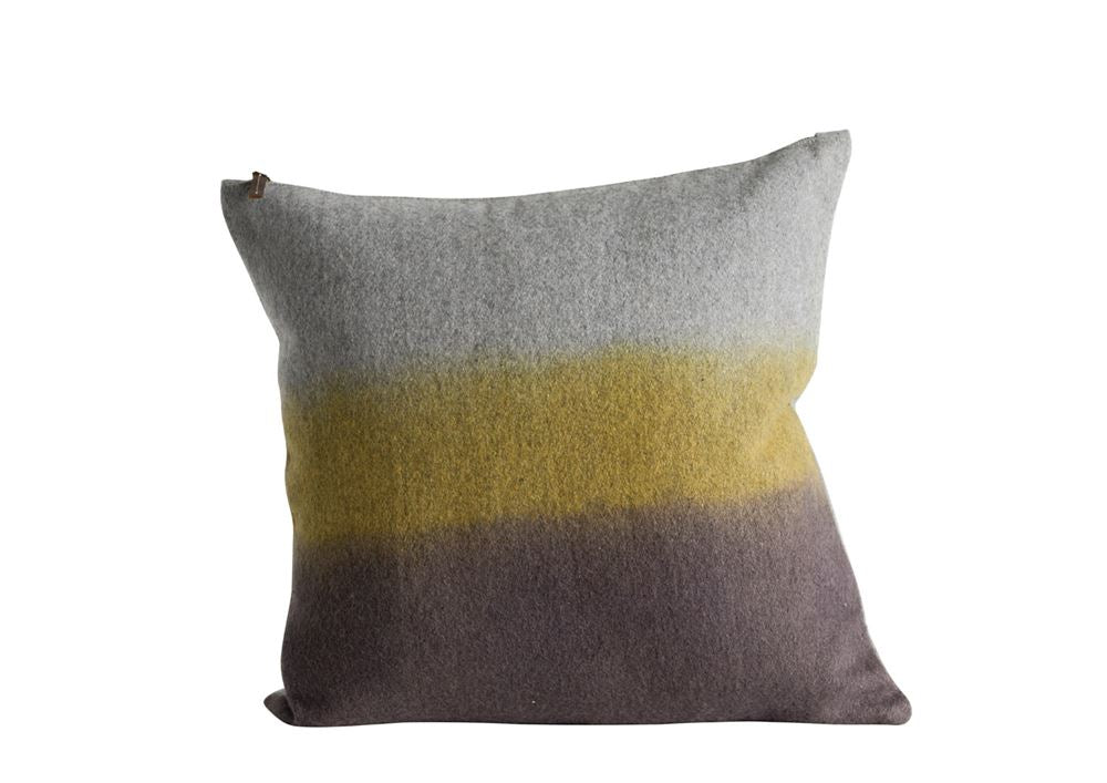"20"" Square Cotton Pillow, Ombre"