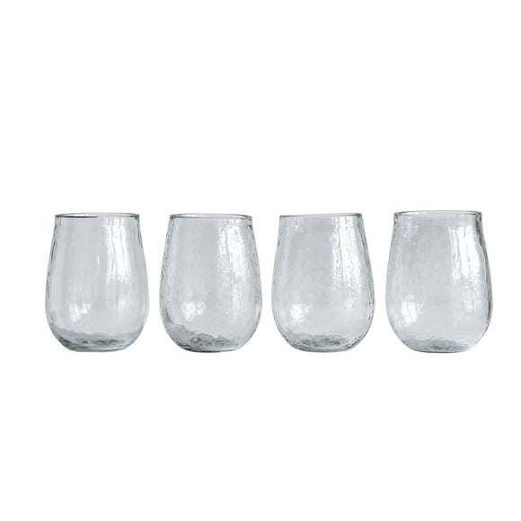 Recycled Glass Stemless Wine Glass