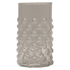Hobnail Drinking Glass