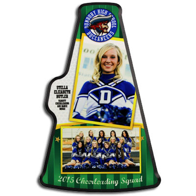 Megaphone Award Plaque - GreenBlueberryGifts
