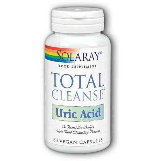 Solaray - Total Cleanse Uric Acid - 60 Vcap
