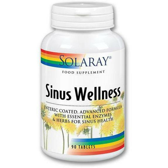 Solaray - Sinus Wellness - 90 Vcap
