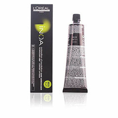 L'Oreal Inoa Coloration D Oxydation Ammonia Free Hair Colour 60g - 8.23 Light Iridescent Golden Blonde