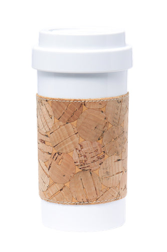 Eco Amigo - Cafe Plus with Circular Cork Mug Sleeve  PLA