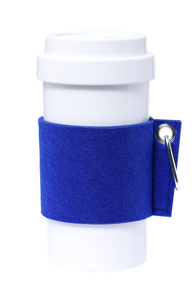 Eco Amigo - Cafe Plus - Felt Mug Sleeve - Blue