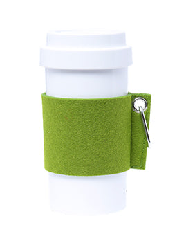 Eco Amigo - PLA Cafe Plus with Felt Mug Sleeve - Green