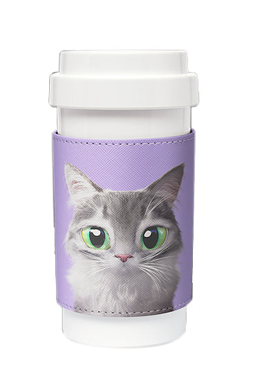 Eco Amigo - Cafe Plus with PU Sleeve - Emma Norwegian Forest Cat