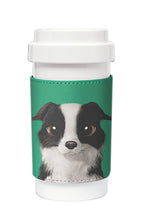 Load image into Gallery viewer, Eco Amigo - Cafe Plus with PU Sleeve - Watamelon Border Collie