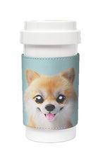 Load image into Gallery viewer, Eco Amigo - Cafe Plus with PU Sleeve Tan The Pomeranian