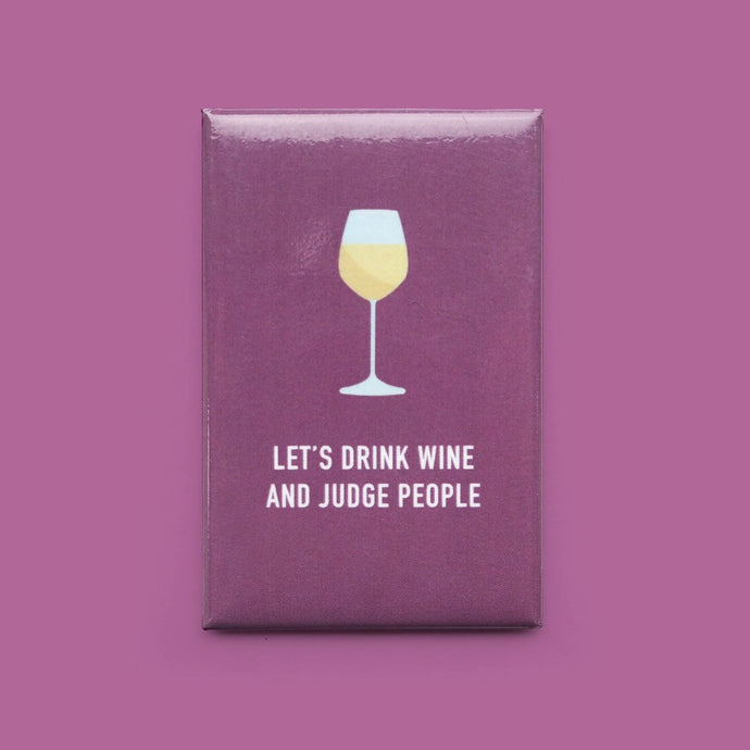 Let's Drink Wine Magnet