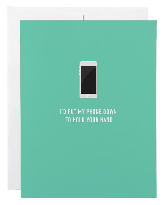 Cell Phone Love Card