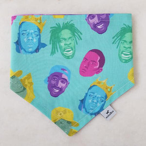 Rap Legends Pet Bandana