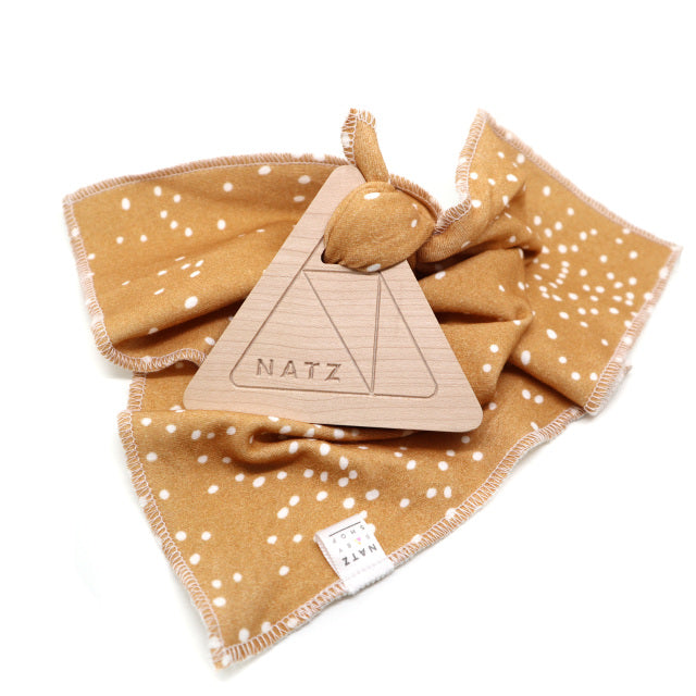 Triangle Teether & Blanket (Multiple Colours)
