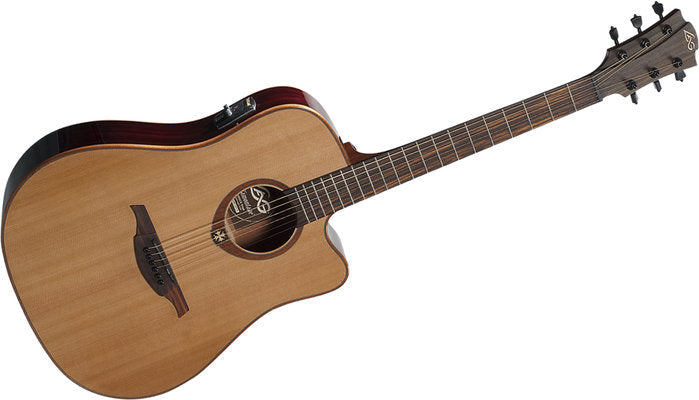 LAG Tramontone T100DCE Acoustic Electric Guitar (2 Colours)