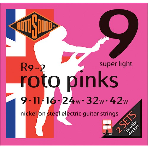 Rotosound Electric 9-46 2 Pack