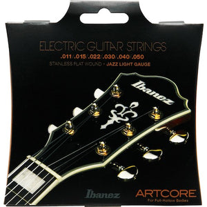 Ibanez Flatwound Electric Guitar Strings 11-50