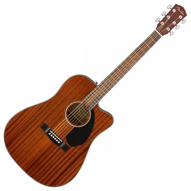 Fender CD60SCE Dreadnought Acoustic Electric Guitar Mahogany