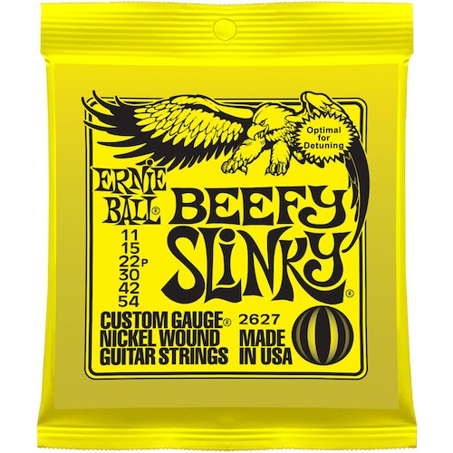 Ernie Ball Electric Strings 11-54 Beefy Slinky