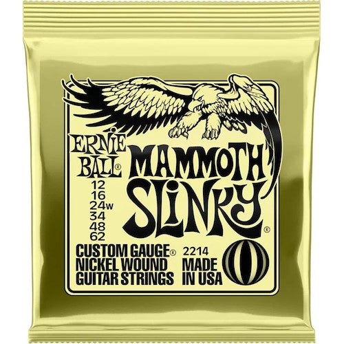 Ernie Ball Electric Strings 12-62 Mammoth Slinky