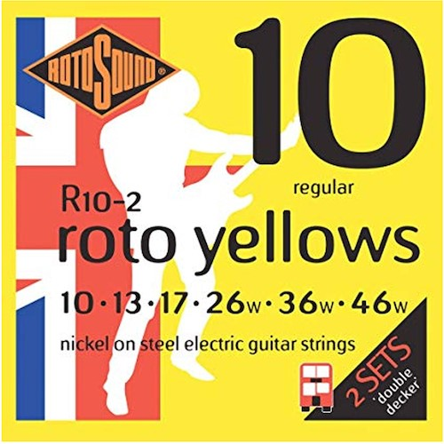 Rotosound Electric 10-46 2 Pack