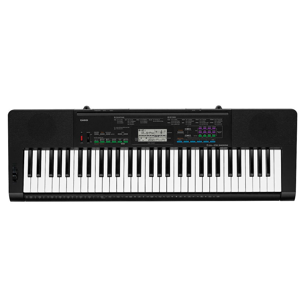 Casio CTK-3400 Touch Response Keyboard
