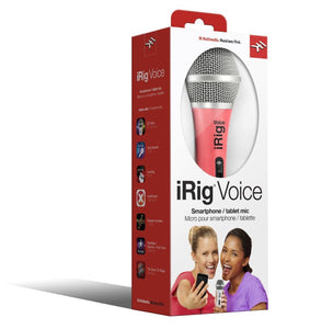 iRig Voice Smartphone/Tablet Microphone