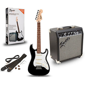 Squier Strat Pack SSS - Black