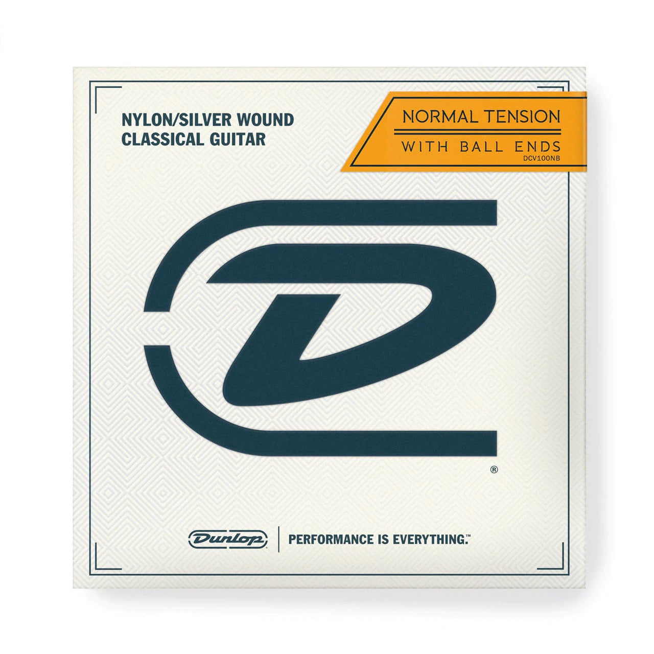 Dunlop DCV100NB Silver Wound Classical Guitar Strings