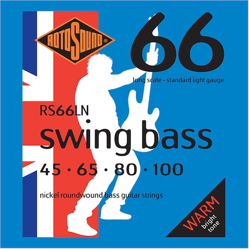Rotosound Nickel Bass Strings 45-100 Long Scale
