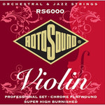 Rotosound Violin Strings 10-30 Silk Monel Full Size
