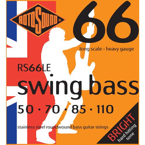 Rotosound Bass Strings 50-110 Stainless Steel Long Scale