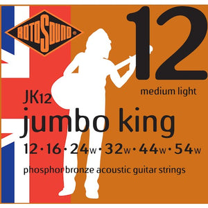 Rotosound Acoustic Strings 12-54 Phosphor Bronze