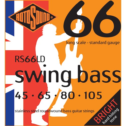Rotosound Bass Strings 45-105 Stainless Steel Long Scale