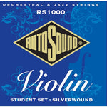 Rotosound Violin Strings 10-30 Silver Wound Full Size