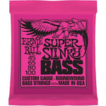 Ernie Ball Bass Strings 45-100 Super Slinky