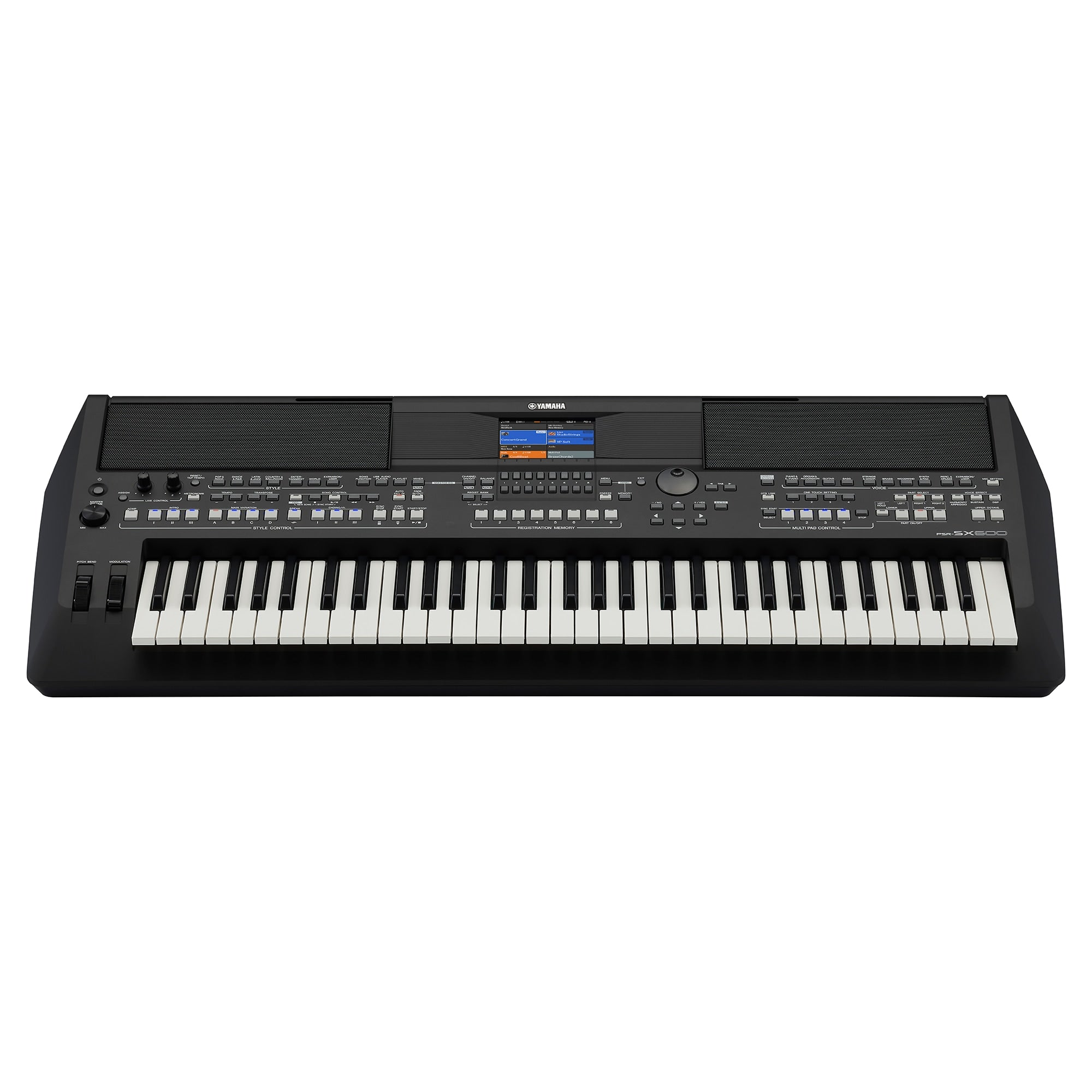 Yamaha PSRS X600 Arranger Keyboard >> New Model