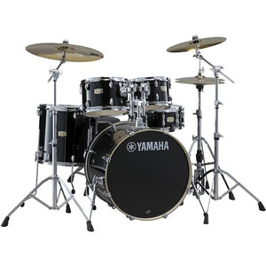 Yamaha SBP2F5 Stage Custom Birch Drum Shell Kit, Raven Black