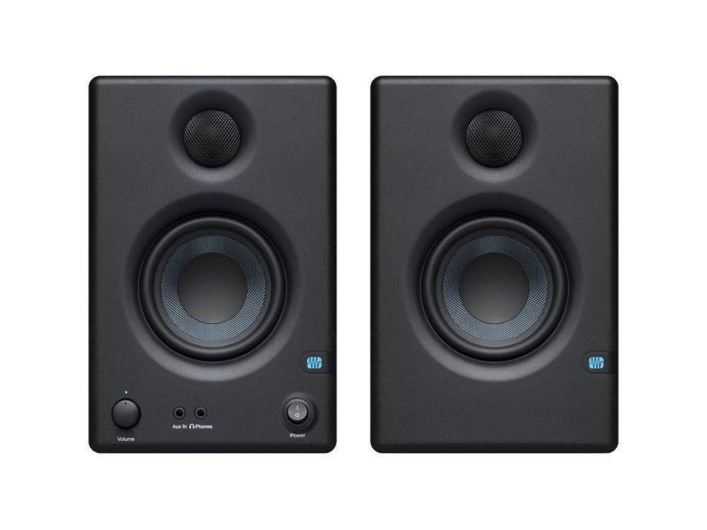"PreSonus Eris E3.5BT Bluetooth 3.5"" 2-Way 25W Nearfield Monitors (Pair)"