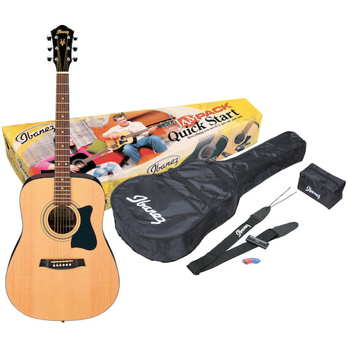 Ibanez V50NJPNT Acoustic Jam Pack, Natural