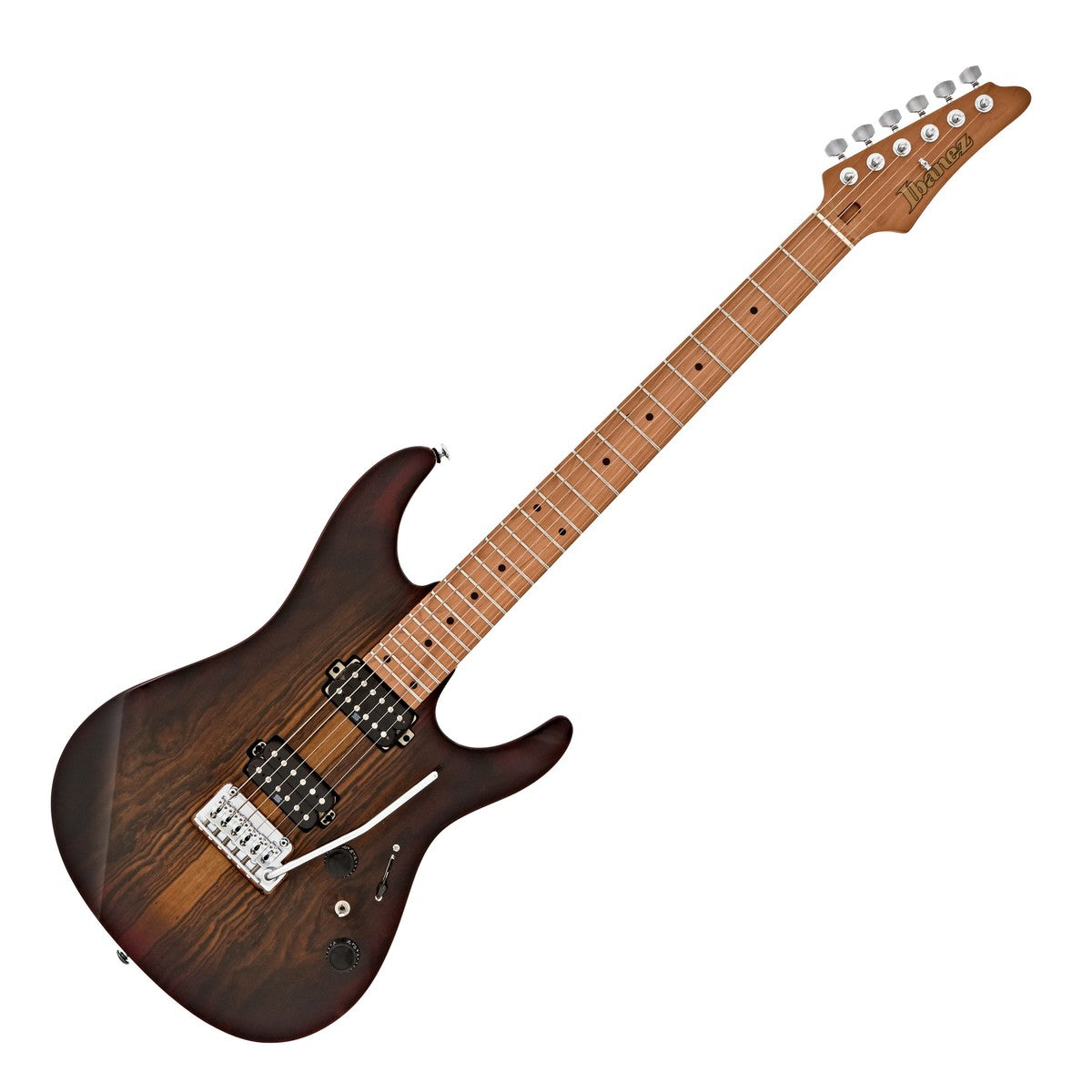 Ibanez Premium AZ Series Electric Guitar, Deep Espresso Burst