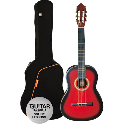 Ashton 1/2 Size Classical Guitar Pack (6 Colours)