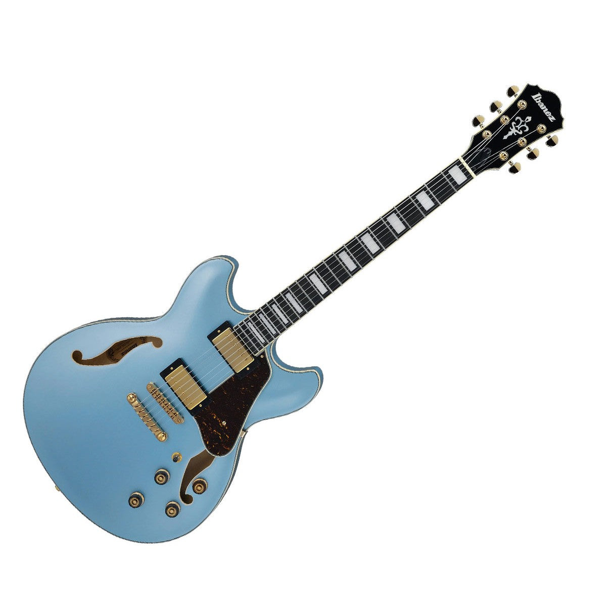 Ibanez Artcore AS83STE Hollow Body Electric Guitar Steel Blue
