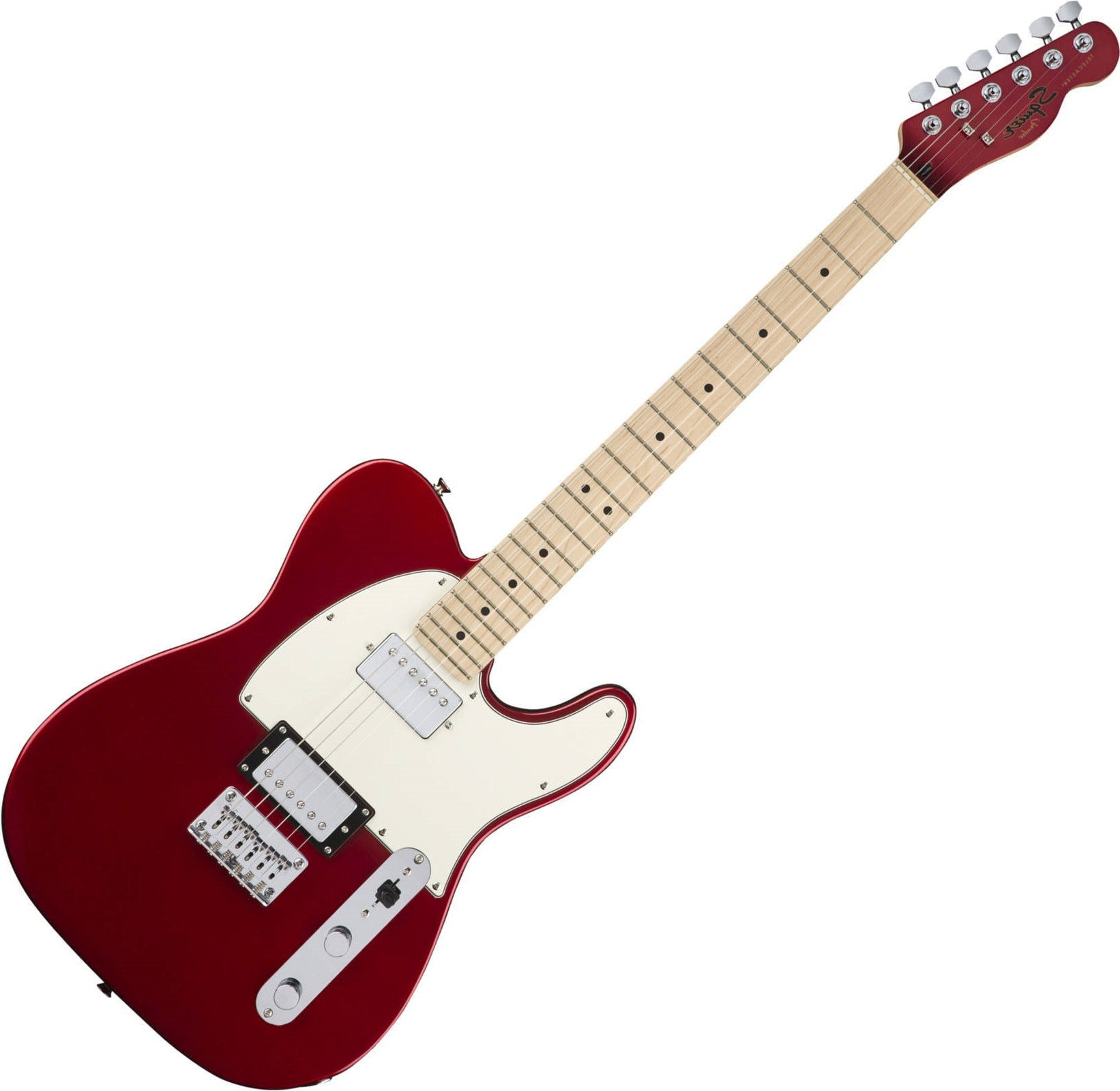 Fender Squier Contemporary Telecaster HH Dark Metallic Red