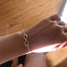 Load image into Gallery viewer, Infinity Charm Bracelet