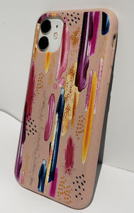 """Abstract Paint"" Biodegradable iPhone Case"