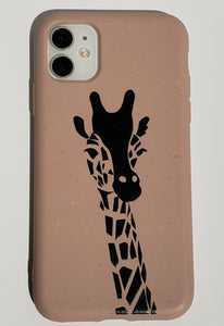 """Giraffe"" Biodegradable iPhone Case"