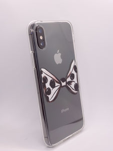 """Bow with Dots"" iPhone Clear Case"